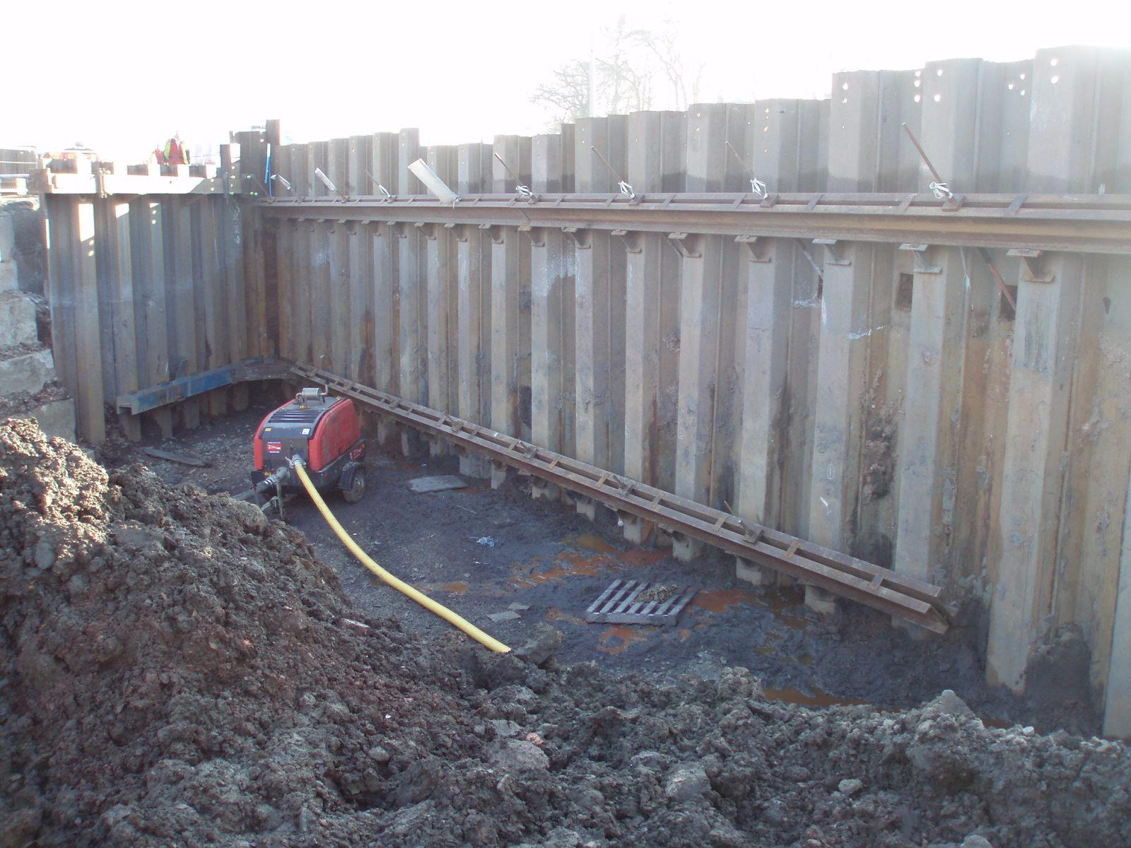 Sheet Piling Contractors, Marine Sheet Piling Contractors