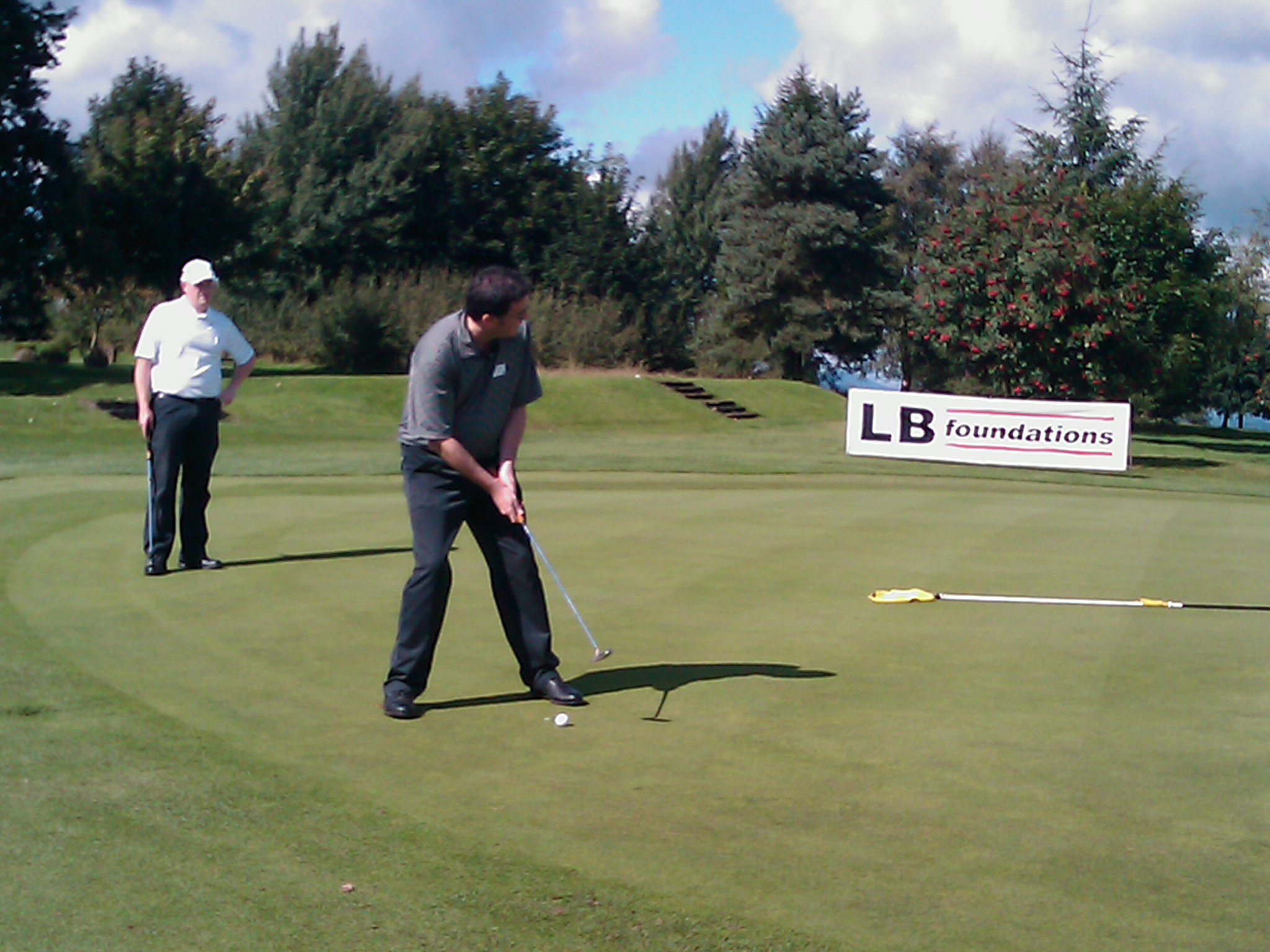 LB support Scottish Spina Bifida golf day