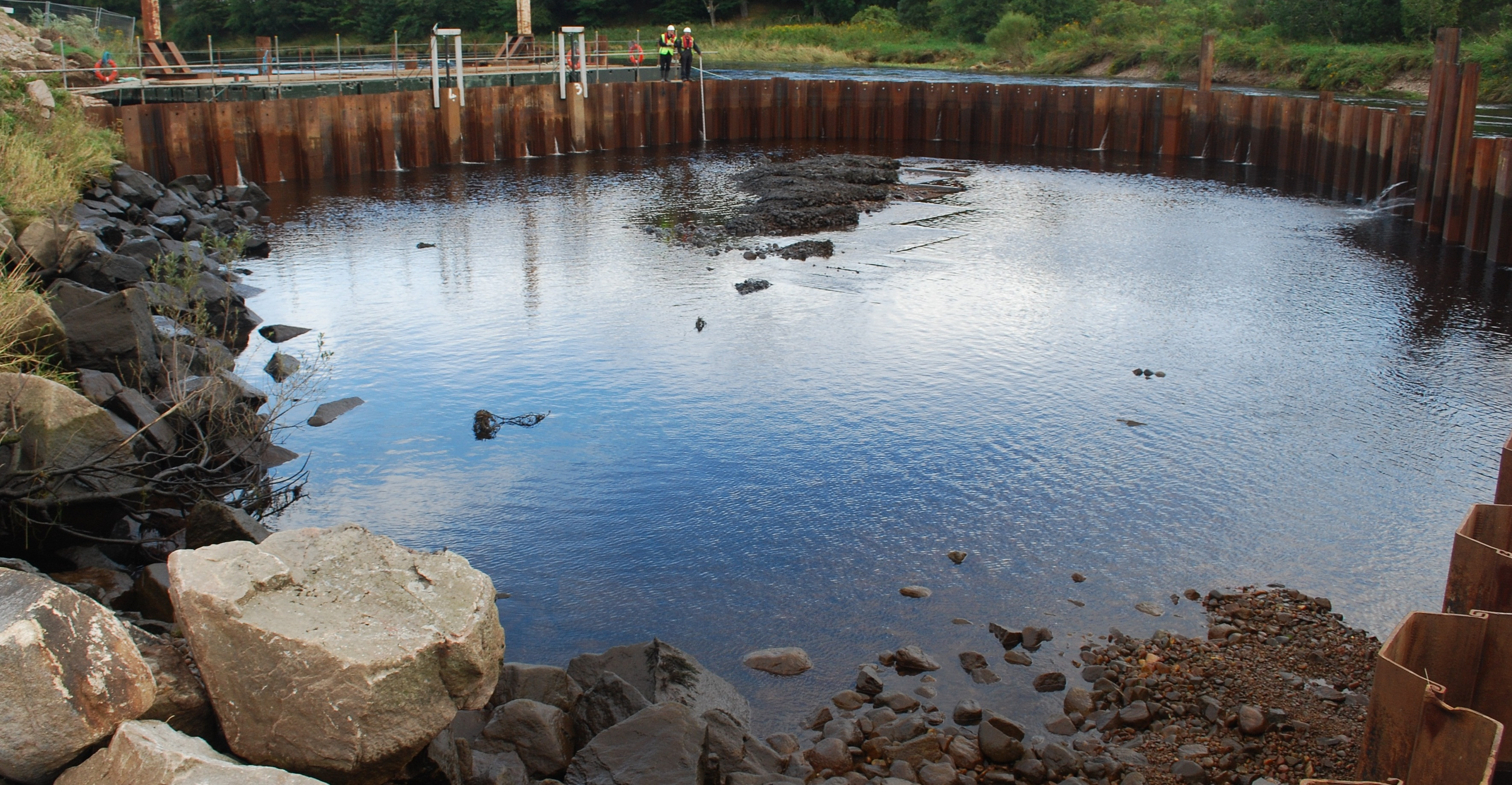 Inchgarth Cofferdam
